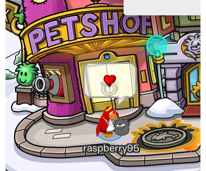 Pet Shop - Club Penguin