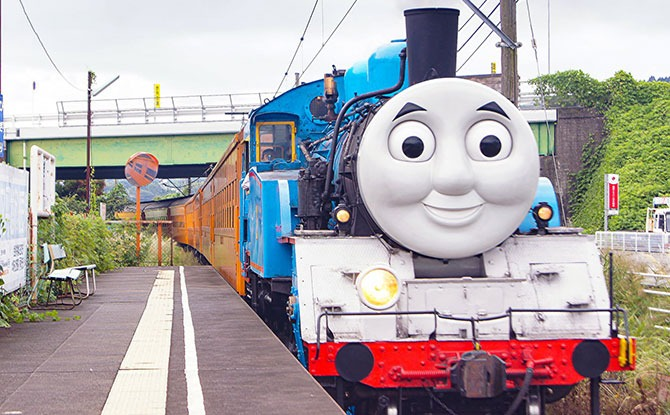 Thomas the Tank Engine Rides in Japan