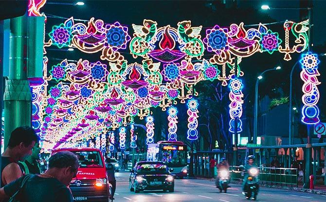 Little India Deepavali Light Up
