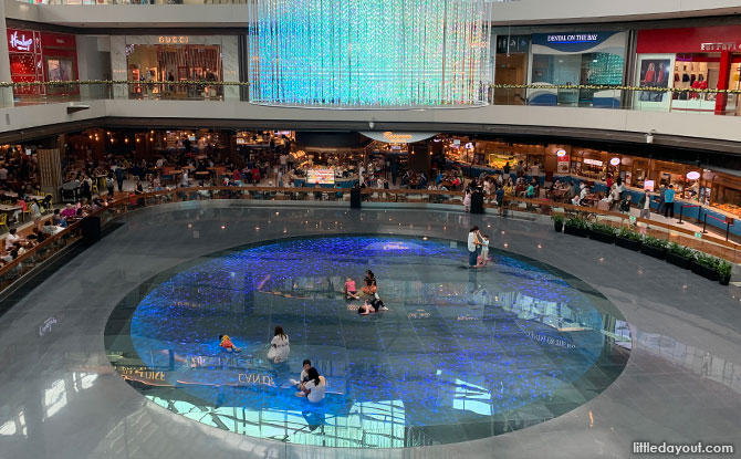 Play at Digital Light Canvas, Marina Bay Sands