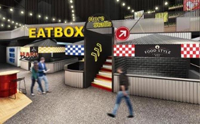 Eatbox Permanent Food Hall