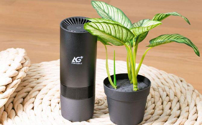 Aurabeat AG+ Portable Silver Ion Air Purifier (CSP-X1)