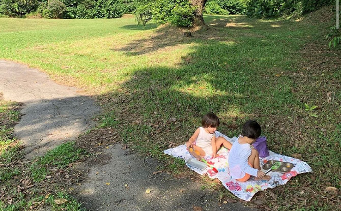 We see how much your children enjoy nature, can you tell us more about why they have so much outdoor time?