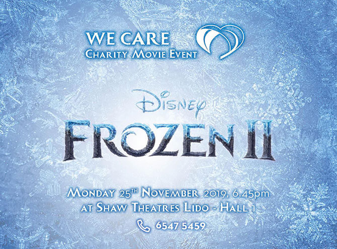 Charity Movie Screenings of Frozen 2