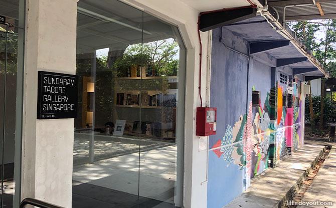Sundaram Tagore Gallery in Gillman Barracks