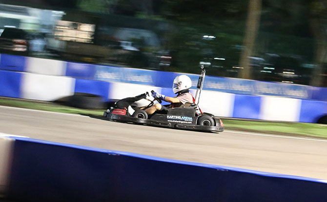 Masters of Speed Go-Kart Time Attack 2020 Race car
