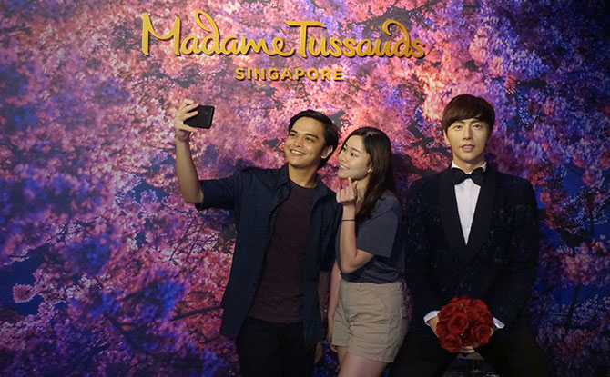 New Park Hae-jin Figure at Madame Tussauds Singapore