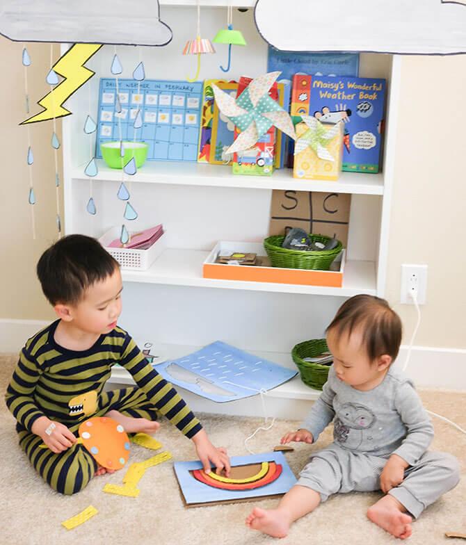 Happy Tot Shelf - Learning Shelves