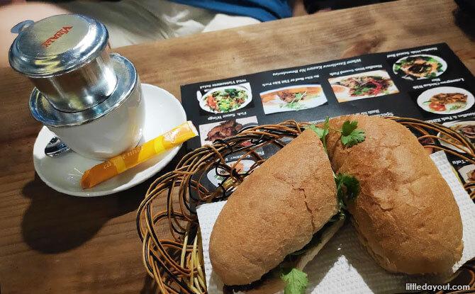 Banh Mi from My Banh Mi Café and Banh Mi Huynh Hoa