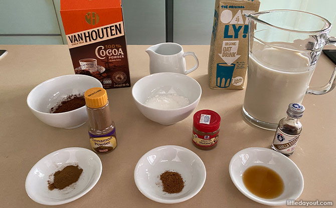 Recipe for Hot Spiced Chocolate Drink