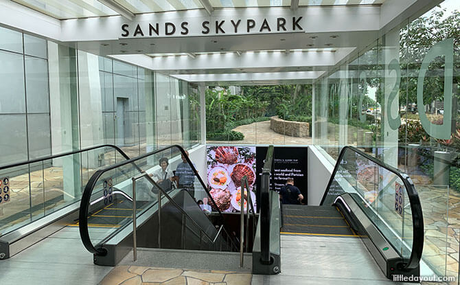 How To Get To Marina Bay Sands SkyPark Observation Deck