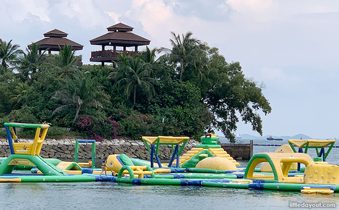 HydroDash: Inflatable Water Park At Palawan Beach, Sentosa
