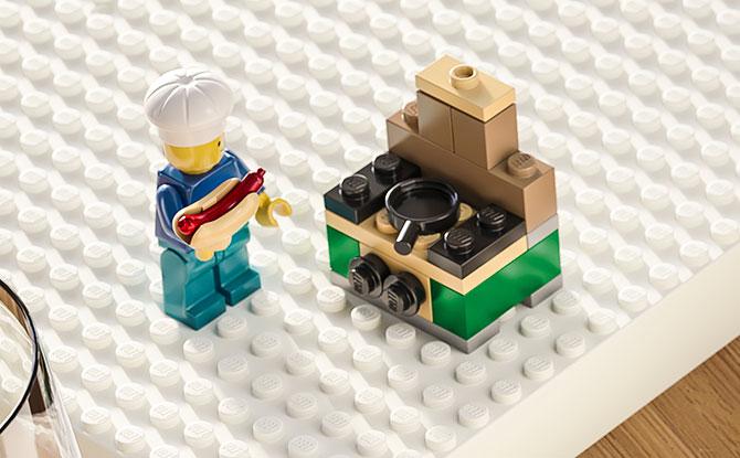 IKEA LEGO Hot Dog!