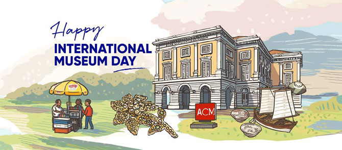 List of illustrations drawn for International Museum Day