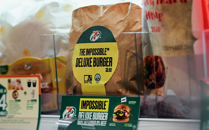 Impossible Burger Debuts In Asia At 7-Eleven Singapore