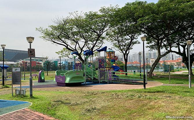 Jalan Bahar Park Playground Equipment