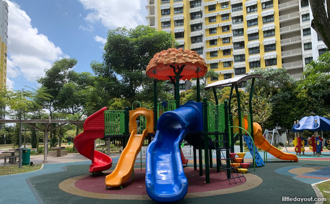 Jelutung Harbour Park Playgrounds