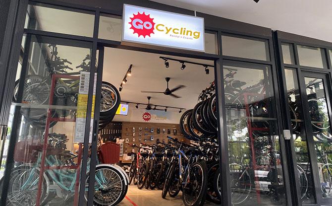 HUB & SPOKE Changi Airport: Cafe, Bike Rental & Cycling Amenities - GoCycling