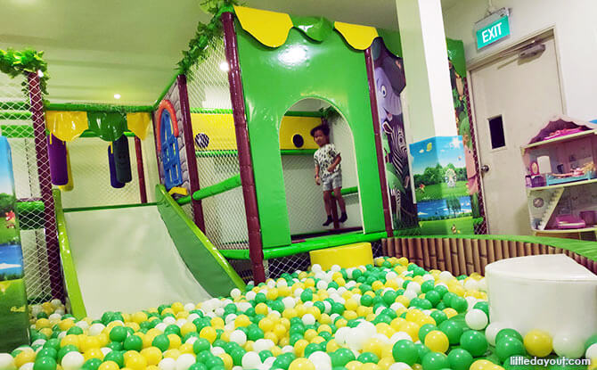 Favourite Play Areas at Kiddles