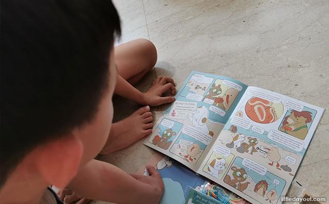KiwiCo's Kiwi Crate Coral Reef Box Book