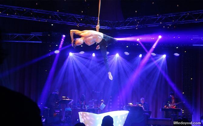 Performances at La Clique Singapore