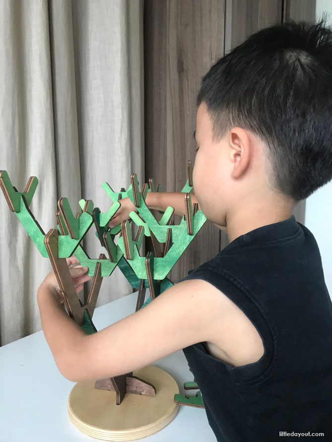 playing with Binary Tree Learning Beautiful Singapore