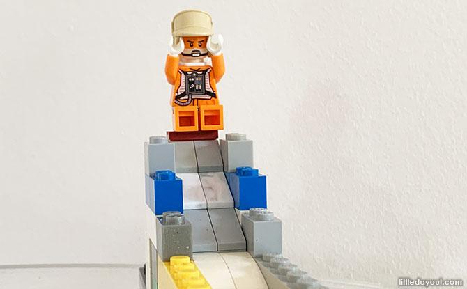 Building a LEGO Playground Slide