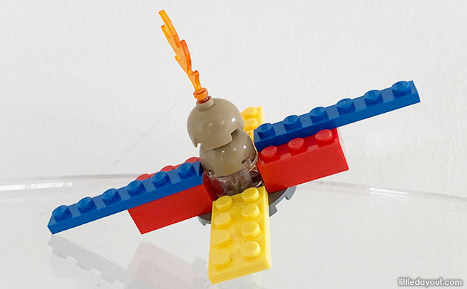 LEGO Spinning Top Building Steps
