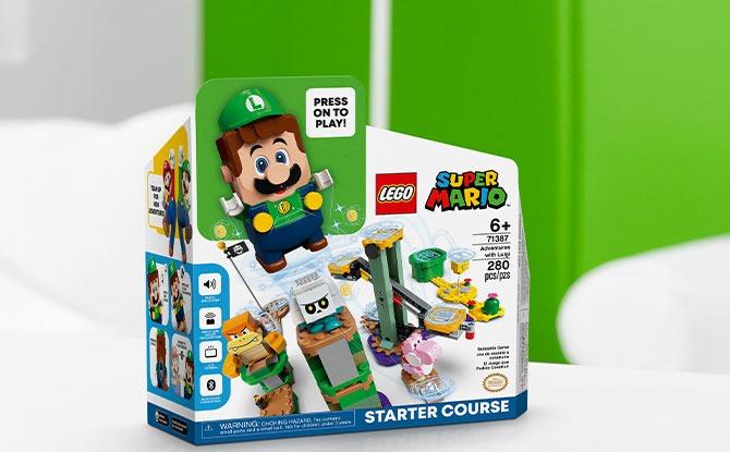 Where to buy the LEGO Super Mario Adventures with Luigi Starter Course