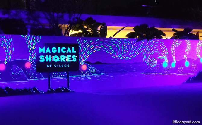 Four Key Acts of Magical Shores at Sentosa Siloso Beach