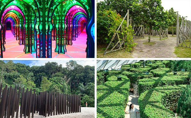 Mazes To Explore And Navigate In Singapore