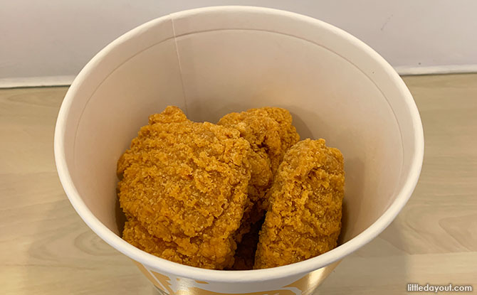 Return of McDonald's Chicken McCrispy to Singapore