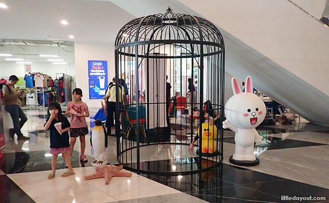 Inside the Capital 21 Mall, Capital City in JB, Malaysia