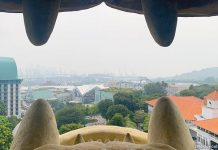 A Visit To The Sentosa Merlion - View from the Mouth Gallery