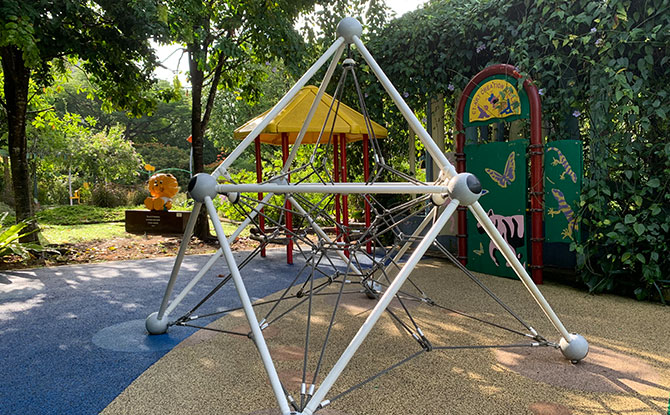 Mini Mars Playground at HortPark