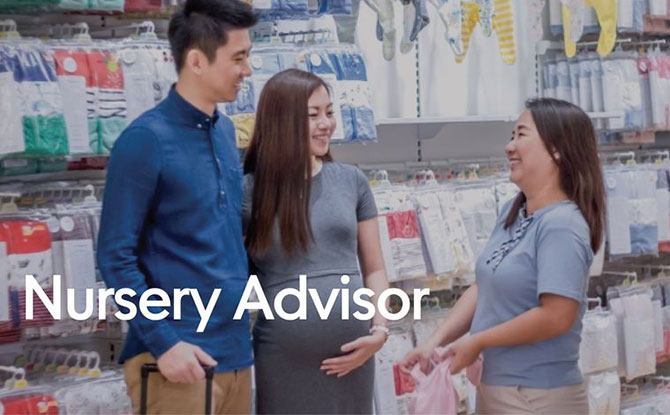 Nursery Advisor Program's Digital Nursery Advisor Service - Mothercare DNA