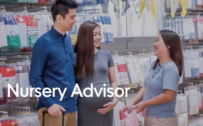 Nursery Advisor Program's Digital Nursery Advisor Service - Mothercare DNA