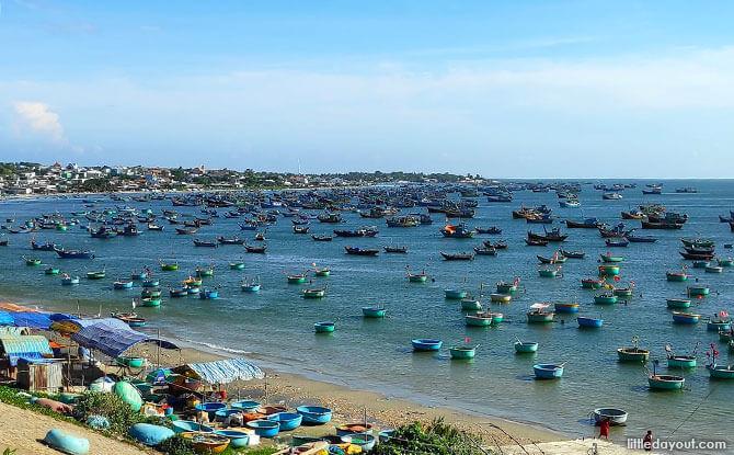 Mui Ne Fishing Harbour