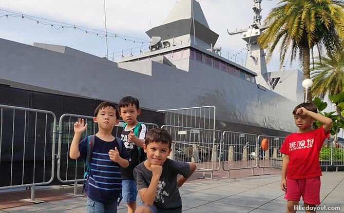 RSS Supreme Frigate Ship Tour - Navy at Vivo 2019