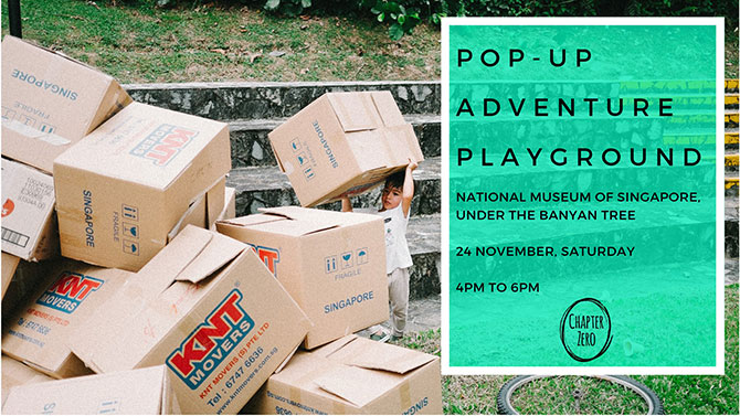 Pop-Up Adventure Playground by Chapter Zero