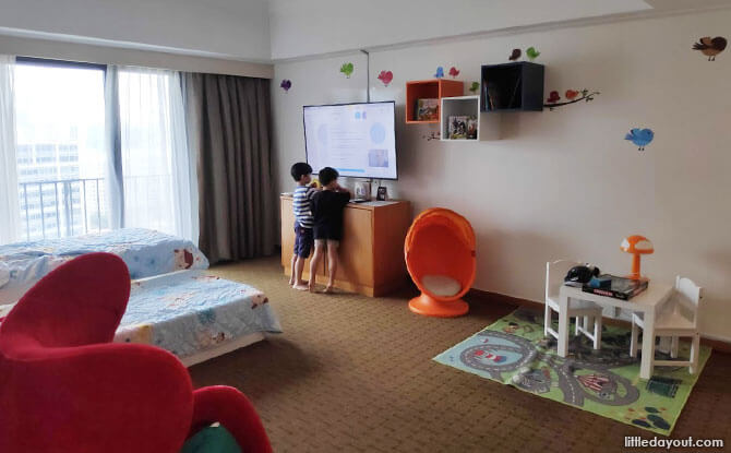 Roarin' Kids Kingdom Suite at Novotel Clarke Quay