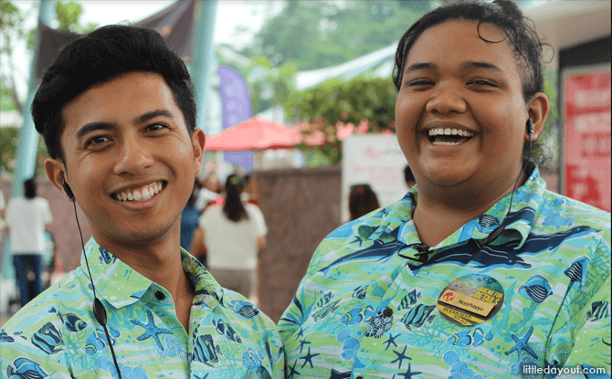 Our cheerful guides, Hakeem and Ayyu