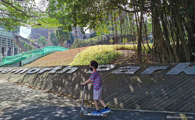 One North Park Biopolis – Most Accessible with the ONLY playground