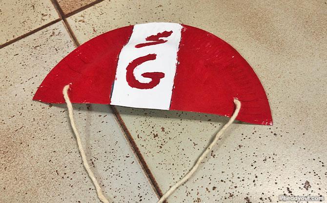 Red Lion parachute