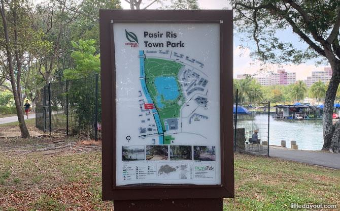 Pasir Ris Town Park Map