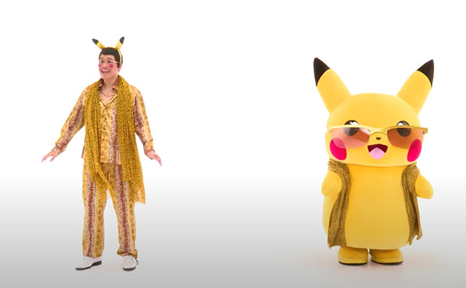 Pikataro X Pikachu Collaboration