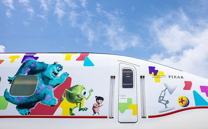 Pixar Train in Japan – Toy Story, Monsters Inc and More