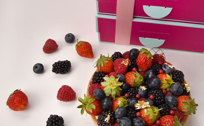 Limited-Edition DIY Mixed Berries Tart