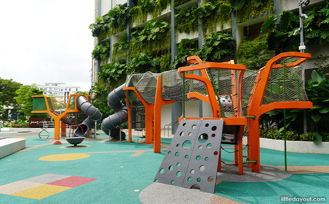 The Parkside Banyan Tree Playground At Paya Lebar Quarter