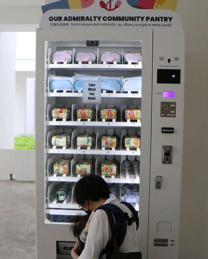 Project Pick Me Up Vending Machine